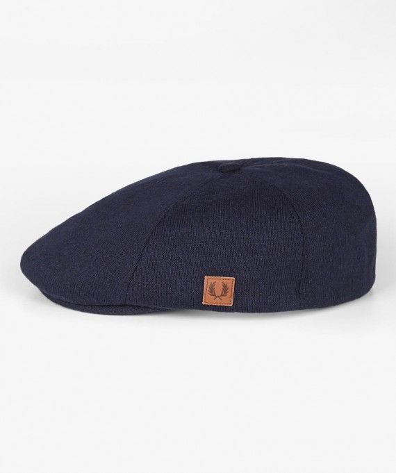 Fred Perry HW5609 Knitted Jersey Flat Cap 92320b13acb