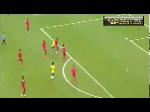 [ไฮไลท์]คูตินโญ่ ยิงประตูดสุดคมให้ บราซิล ในเกมทีมชาติกระชับมิตรทีมชาติ