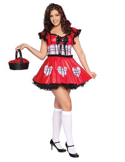 Sexy Halloween Costume | Wolf Bait Plus Size, flirtcatalog.com