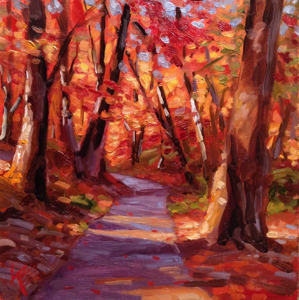 Pathways original fine art by Krista Eaton