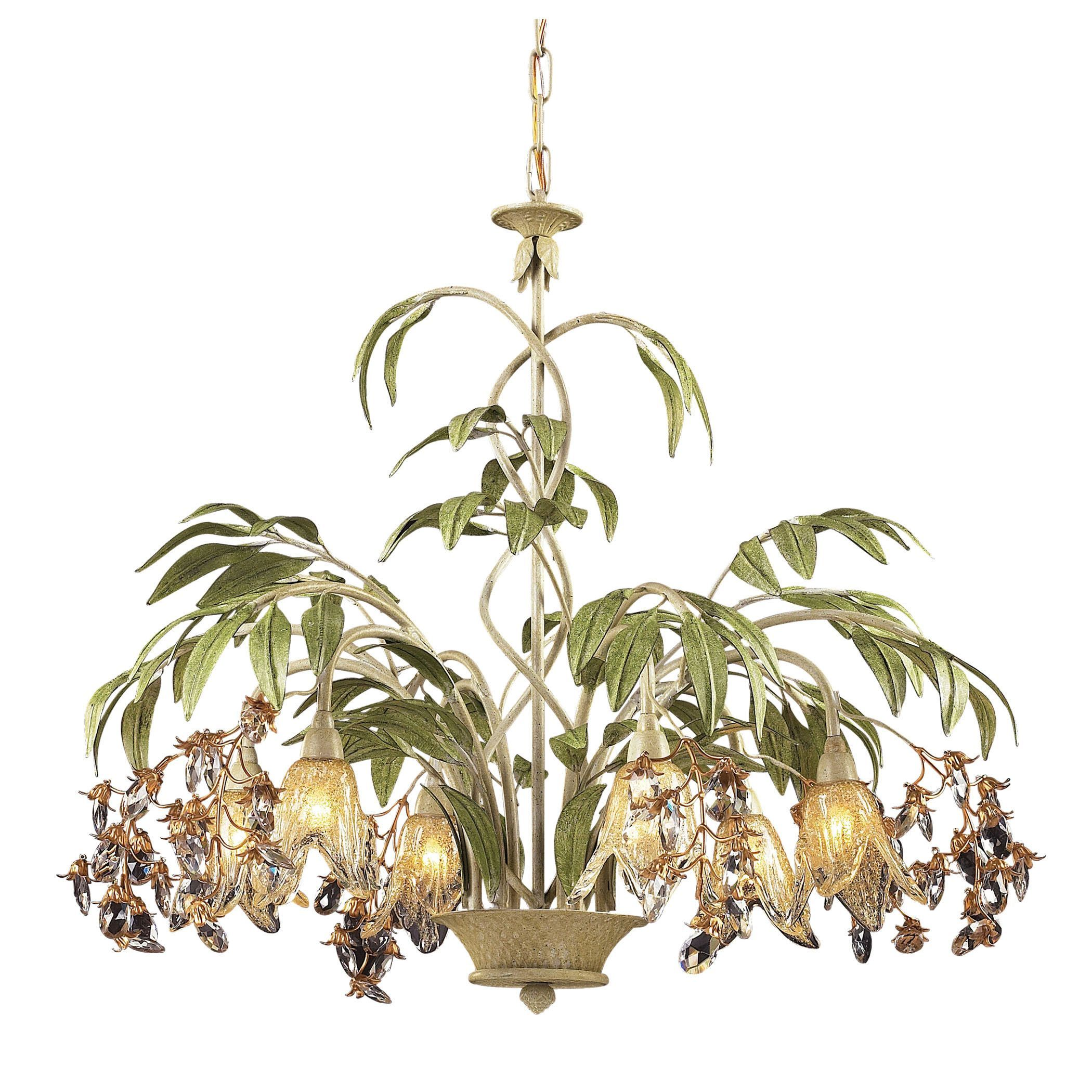 green crown gallery for handcrafted flowers img chandelier