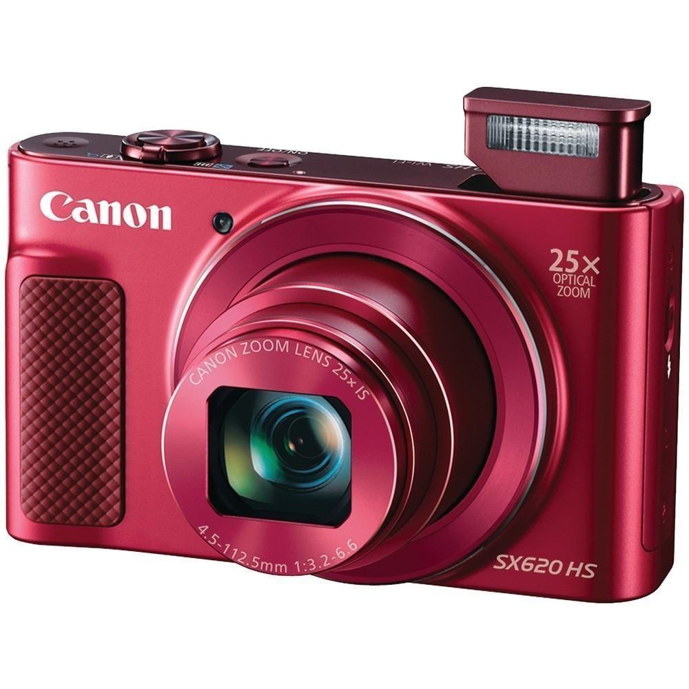Canon 20.2-megapixel Powershot Sx620 Hs Digital Camera (red ...
