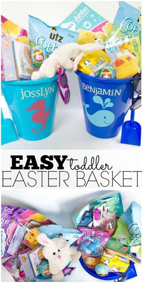 easy toddler easter basket easter baskets and easter