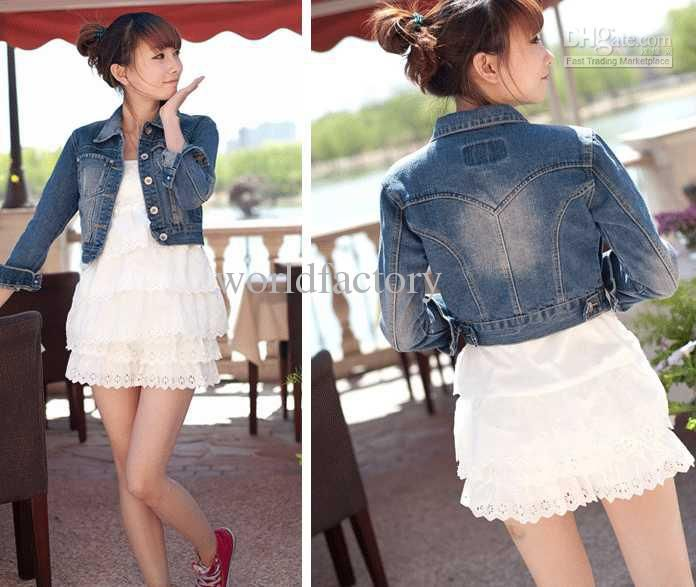 Denim Short Jackets For Women
