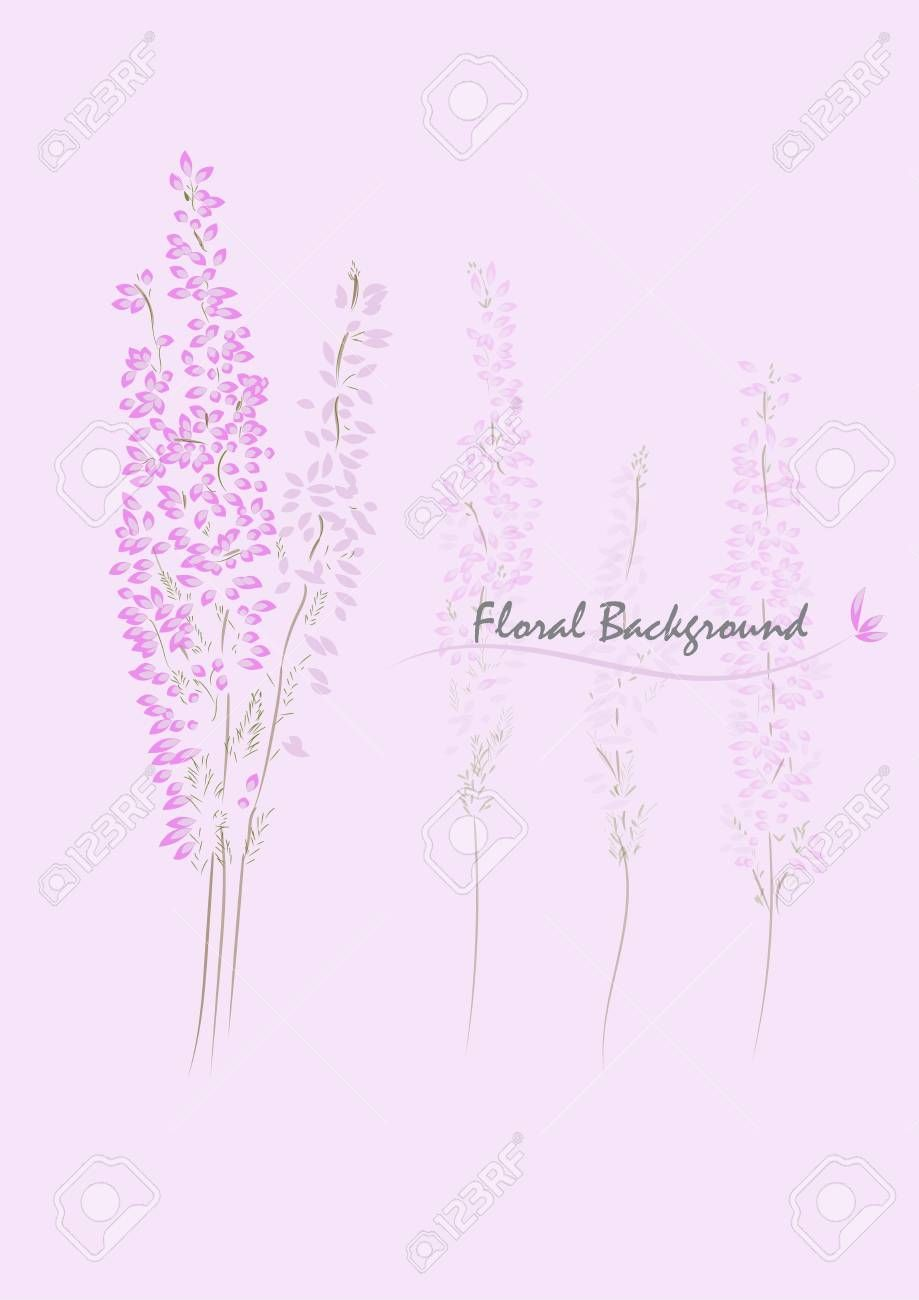Pink Heather Flower Vector Desing Background Affiliate Flower Heather P Affiliate Background Desing Flower Heather In 2020 Heather Flower Flowers Pink
