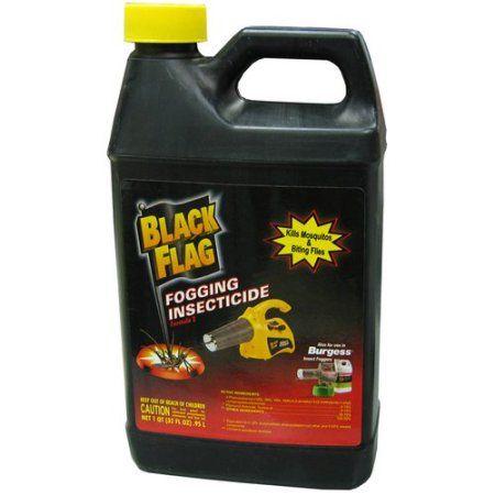 Black Flag Fogging Insecticide 32 Fl Oz Multicolor Mosquito Fogging Flag Backyard Picnic