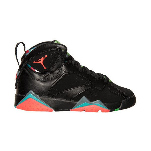 16d47e4f9926a9 Boys  Grade School Air Jordan Retro 7 30th Basketball Shoes ( 75) ❤ liked  on Polyvore featuring shoes