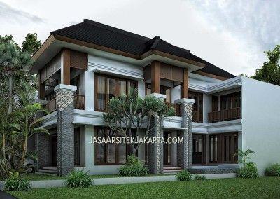 desain rumah luas 450 m2 milik bu devi batam - jasa