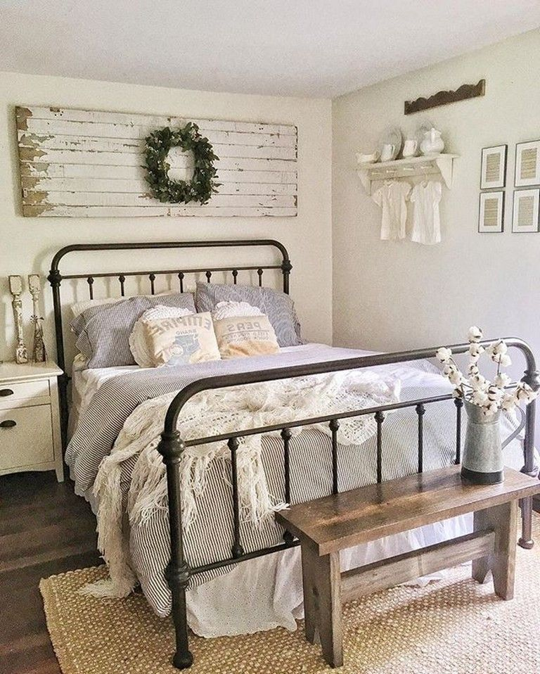 40 Best Bedroom Decor And Design Ideas With Farmhouse Style