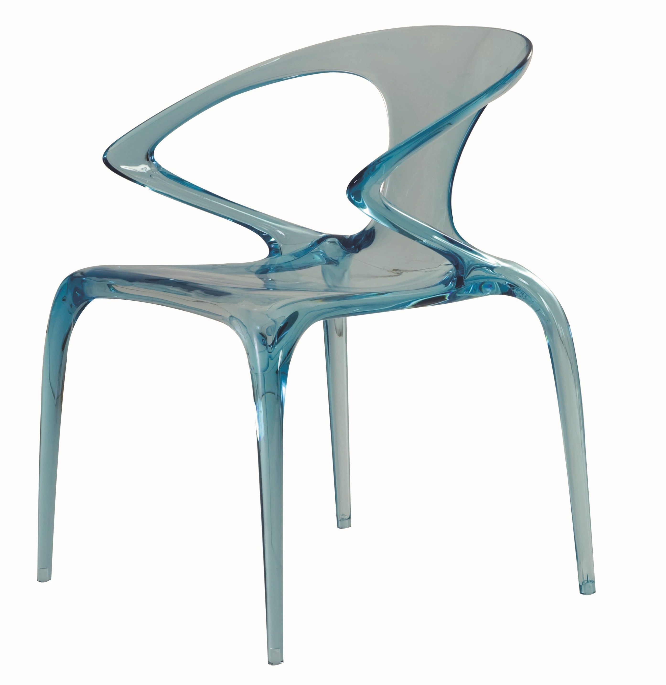 Chaise empilable avec accoudoirs AVA by ROCHE BOBOIS design Song ...