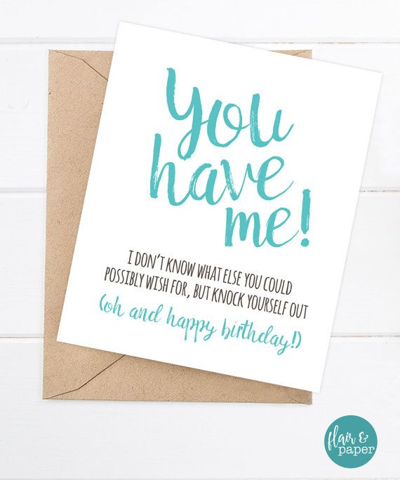 Birthday Card Funny Boyfriend Card Funny Girlfriend Birthday Card Messages Birthday Cards Birthday Card Printable