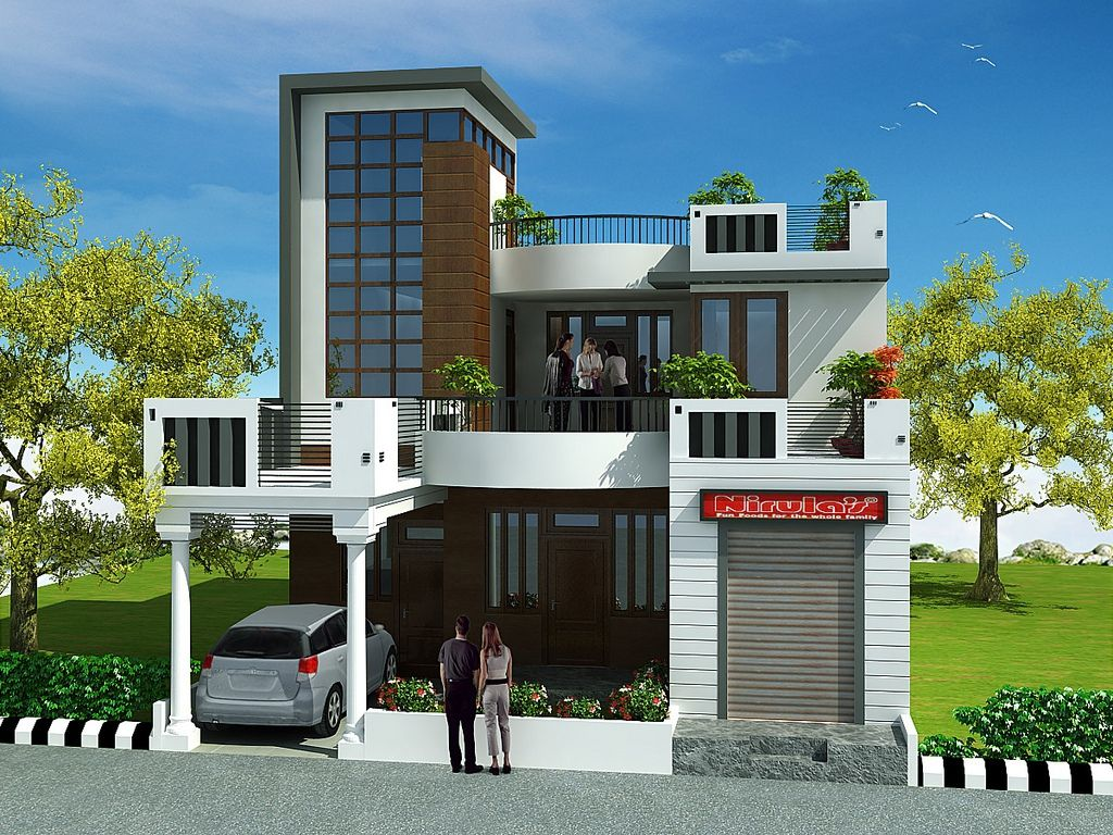 2 Storey House Design With Roof Deck Ideas