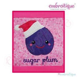 Sugar Plum Applique, Large - 6 Sizes! | Christmas | Machine Embroidery Designs | SWAKembroidery.com Embroitique