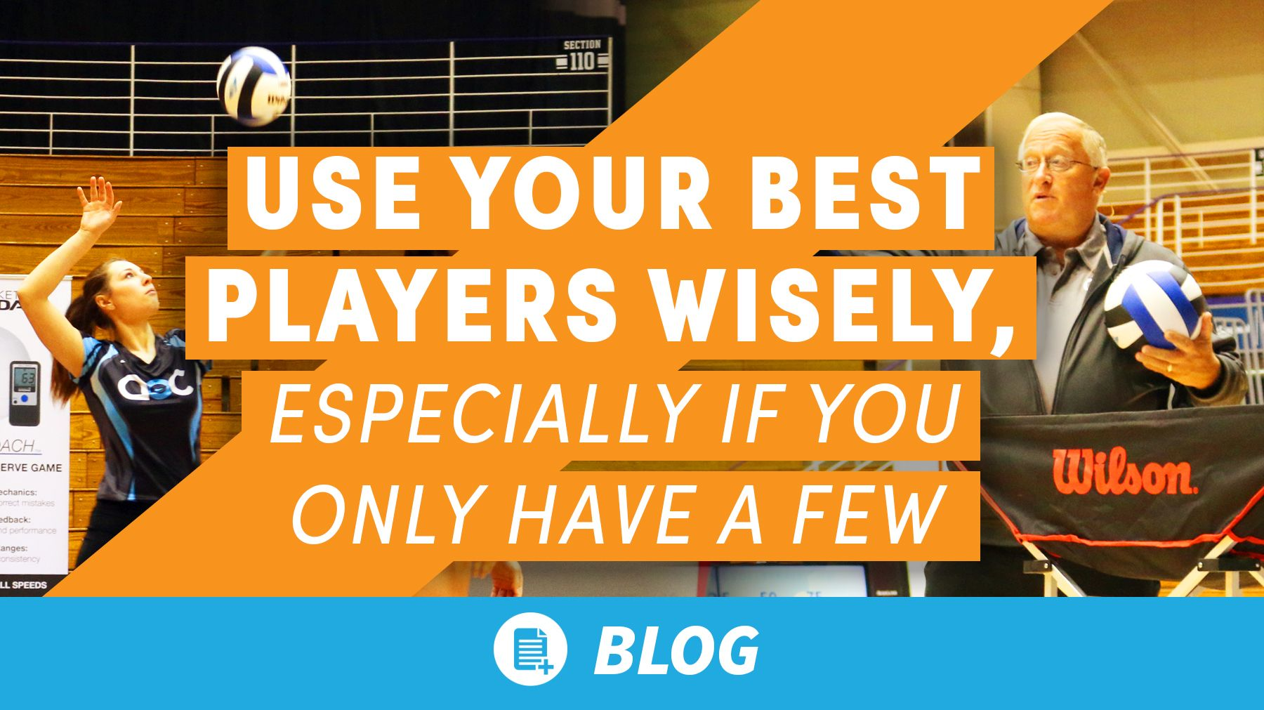 Use Your Best Players Wisely Especially If You Only Have A Few The Art Of Coaching Volleyball Best Player Coaching Volleyball Team Coaching