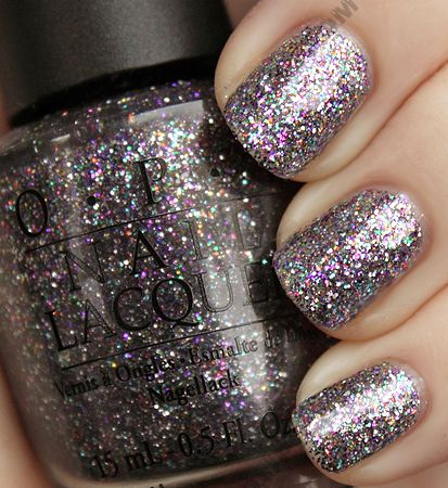Opi Alice In Wonderland Collection Swatches Review For Spring 2010 Wonderlandglitter Nail Polishnail