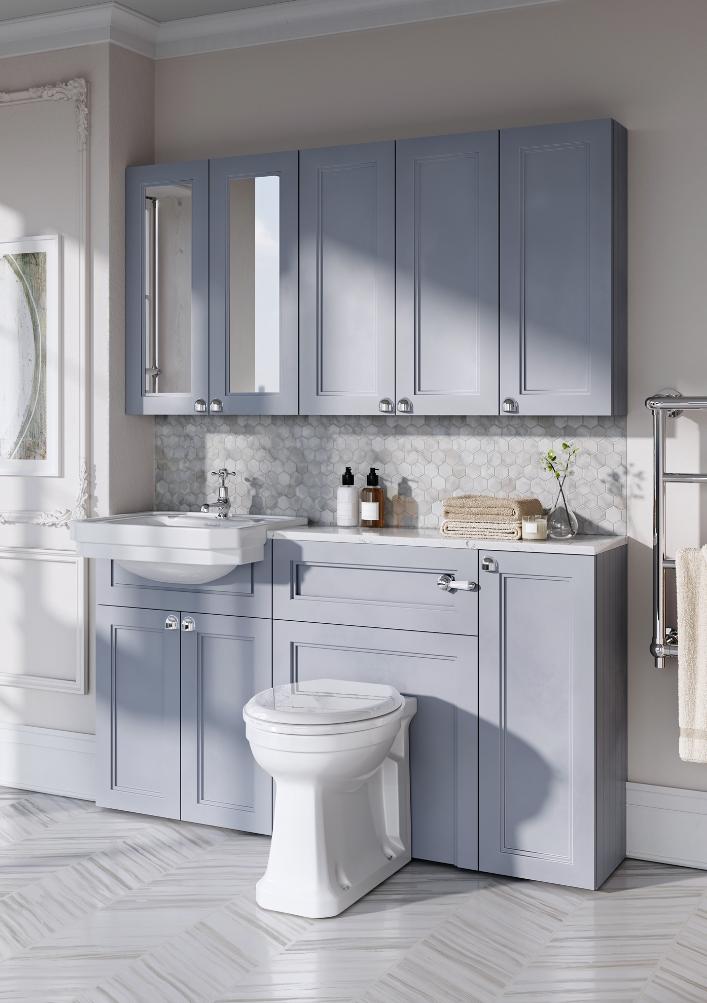 Badezimmer Classic Grey By Burlington Bathrooms Burlington Bathroom Bathroom Furniture Fitted Furniture