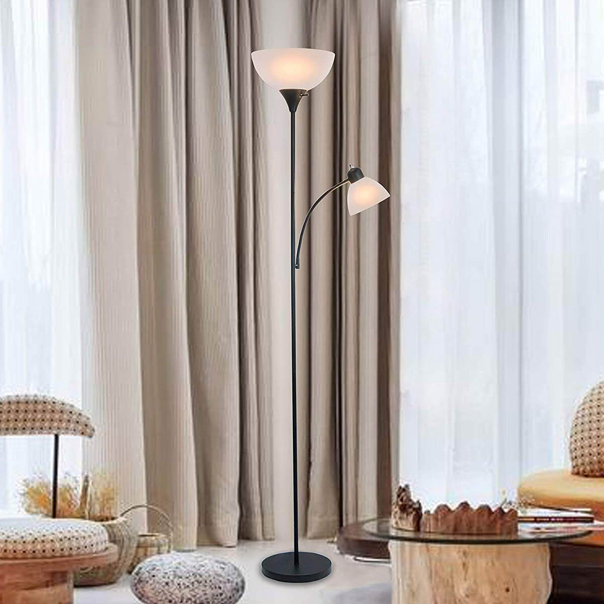 26 Perfect Living Room Lamps That Will Add Trendy Lighting Lamps Living Room Adjustable Floor Lamp Reading Lamp Floor