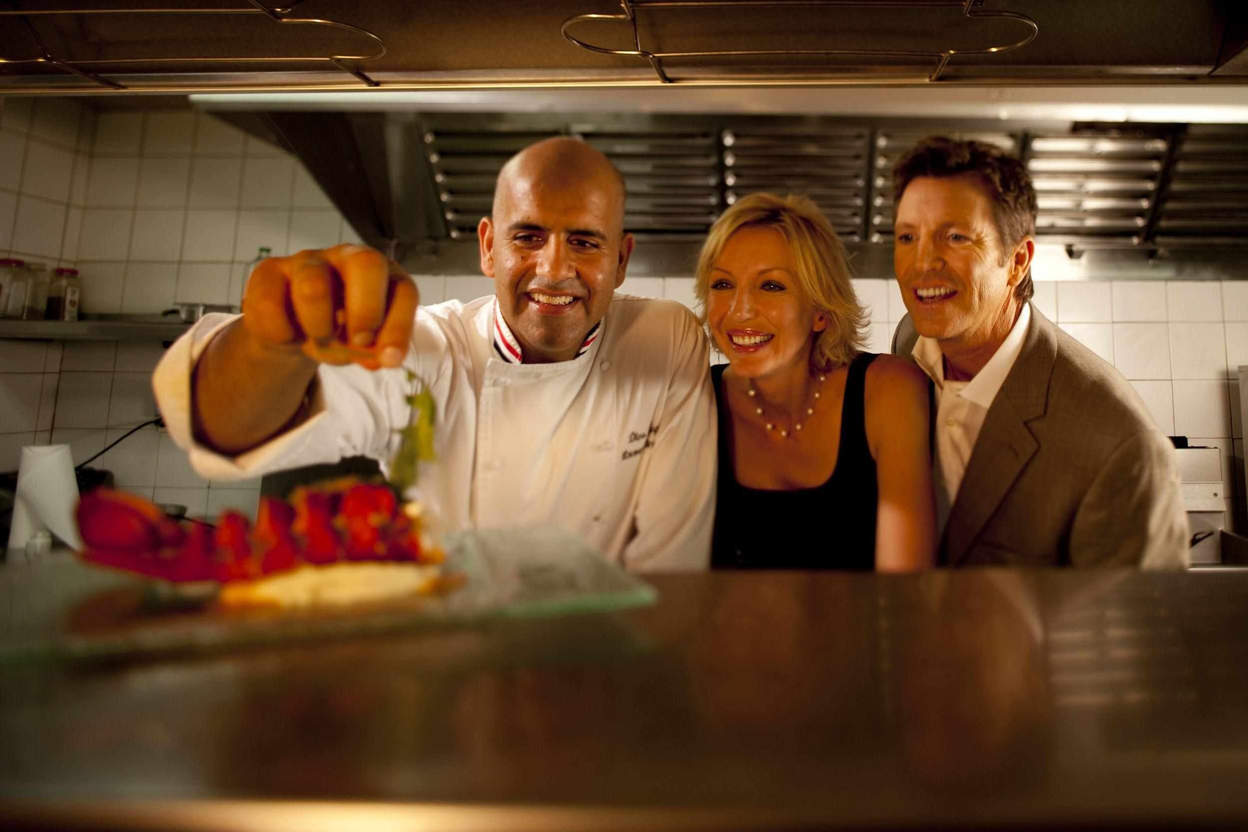 St. Maarten se diferencia pela alta qualidade de sua cozinha, comandada por reconhecidos chefs.