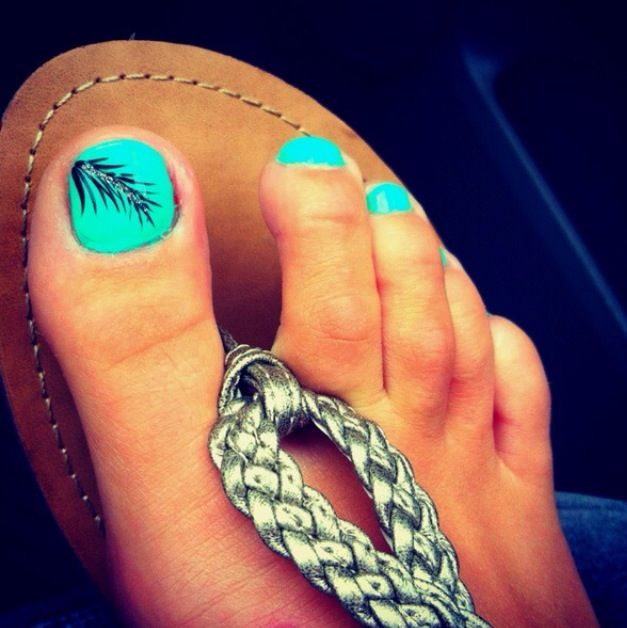 Funky Toe Nail Art-15 Cool Toe Nail Designs For Teenage Girls - Funky Toe Nail Art-15 Cool Toe Nail Designs For Teenage Girls