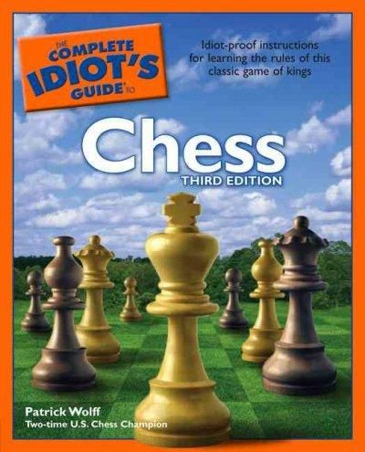 The complete idiots guide to chess chess pinterest chess the complete idiots guide to chess paperback overstock shopping the best deals on chess fandeluxe Images