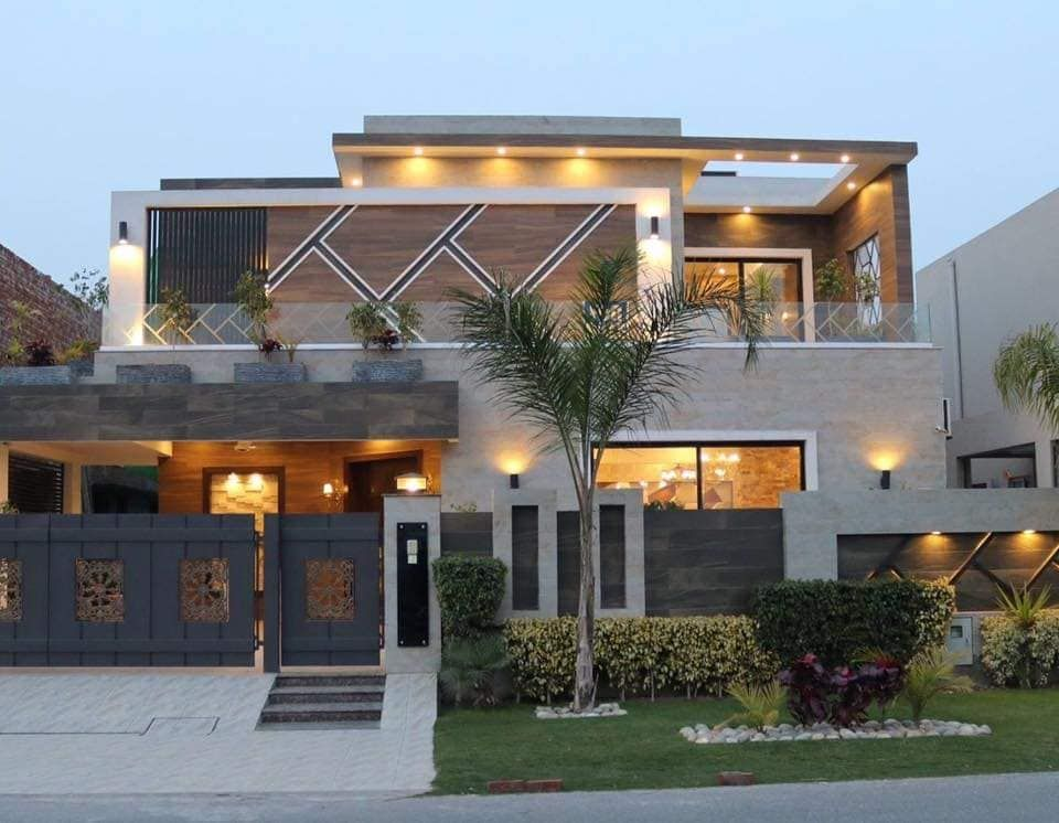 Design By Lahore Pak Properties Builders One Kanal New Project