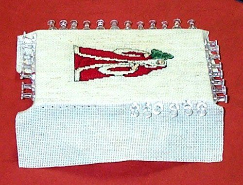 stretch mounting cross stitch for framing (use foam board and ...