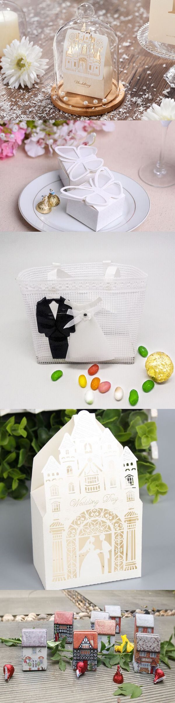 30+ Beautiful Wedding Candy Favor Boxes | Rustic wedding favors ...