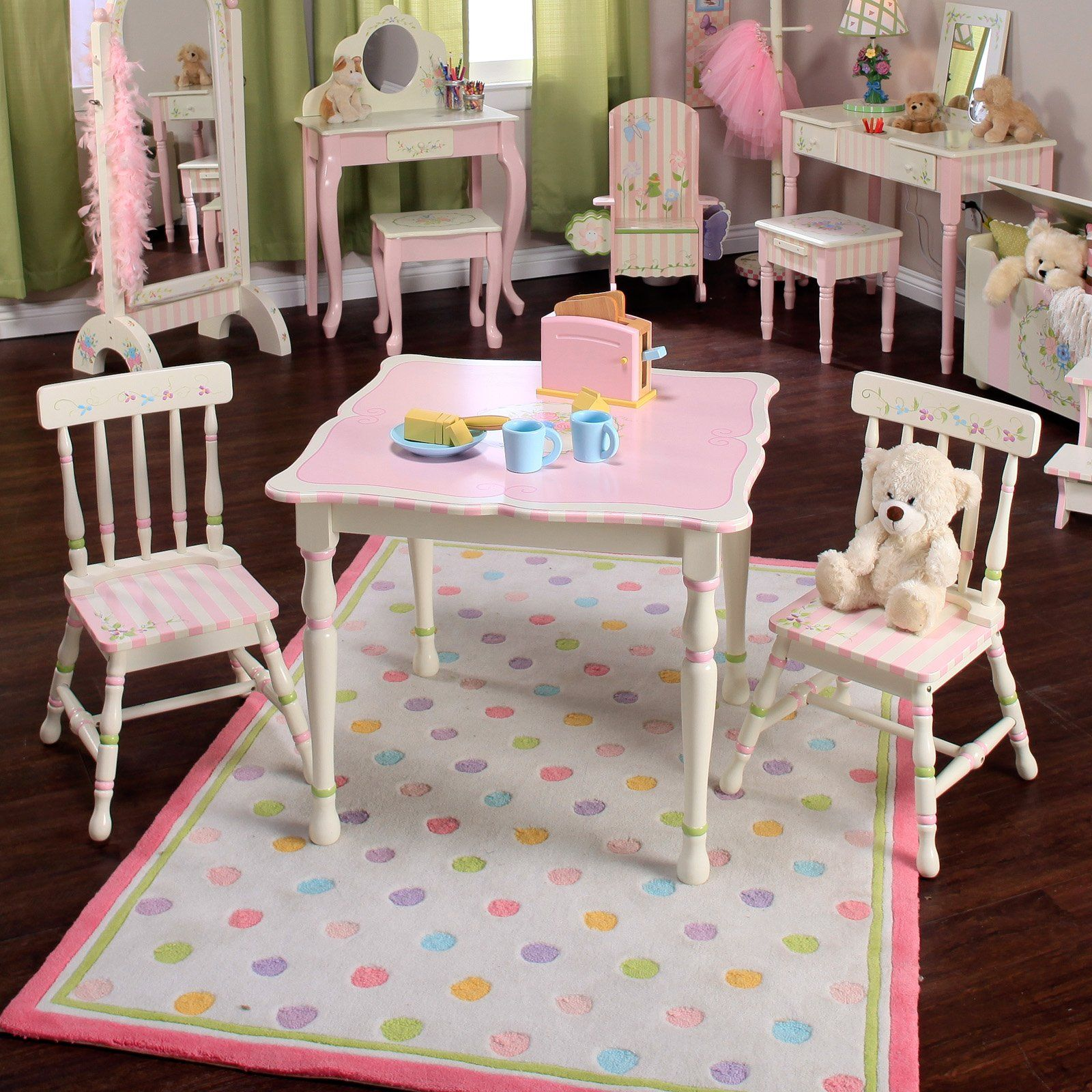 Have to have it Teamson Kids Bouquet Table and Chair Set $249 99