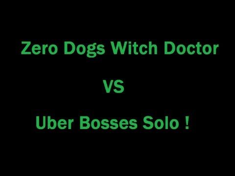 Footage of my Witch Doctor Soloing all uber bosses on Monster power 6, using the Zero dogs / sacrifice build, enjoy ! :D