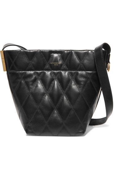 5441d9f59ae Givenchy - GV mini quilted leather bucket bag in 2019 | Products ...