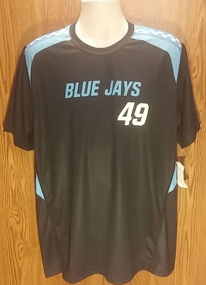 new styles 7239c 7fd82 Johns Hopkins Blue Jays Nike Lacrosse Jersey/Shirt Large ...