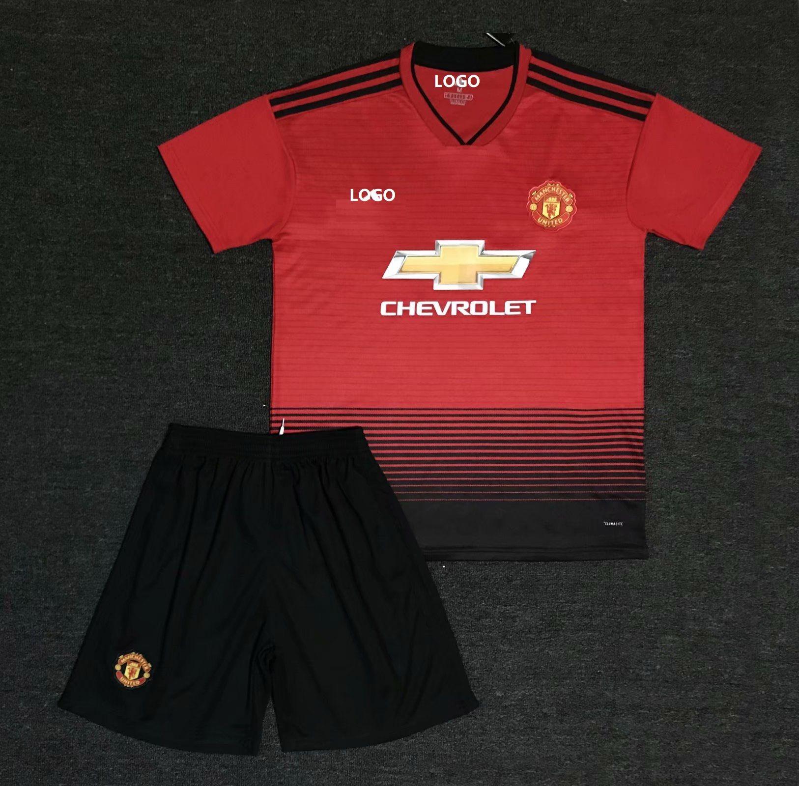 e46dda64d 18/19 Cheap Adult Manchester United Away Soccer Jersey Uniform Men Football  Jersey Kits | Soccer uniform