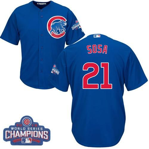 Cubs #41 John Lackey Blue Alternate 2016 World Series Bound Women's Stitched MLB Jersey