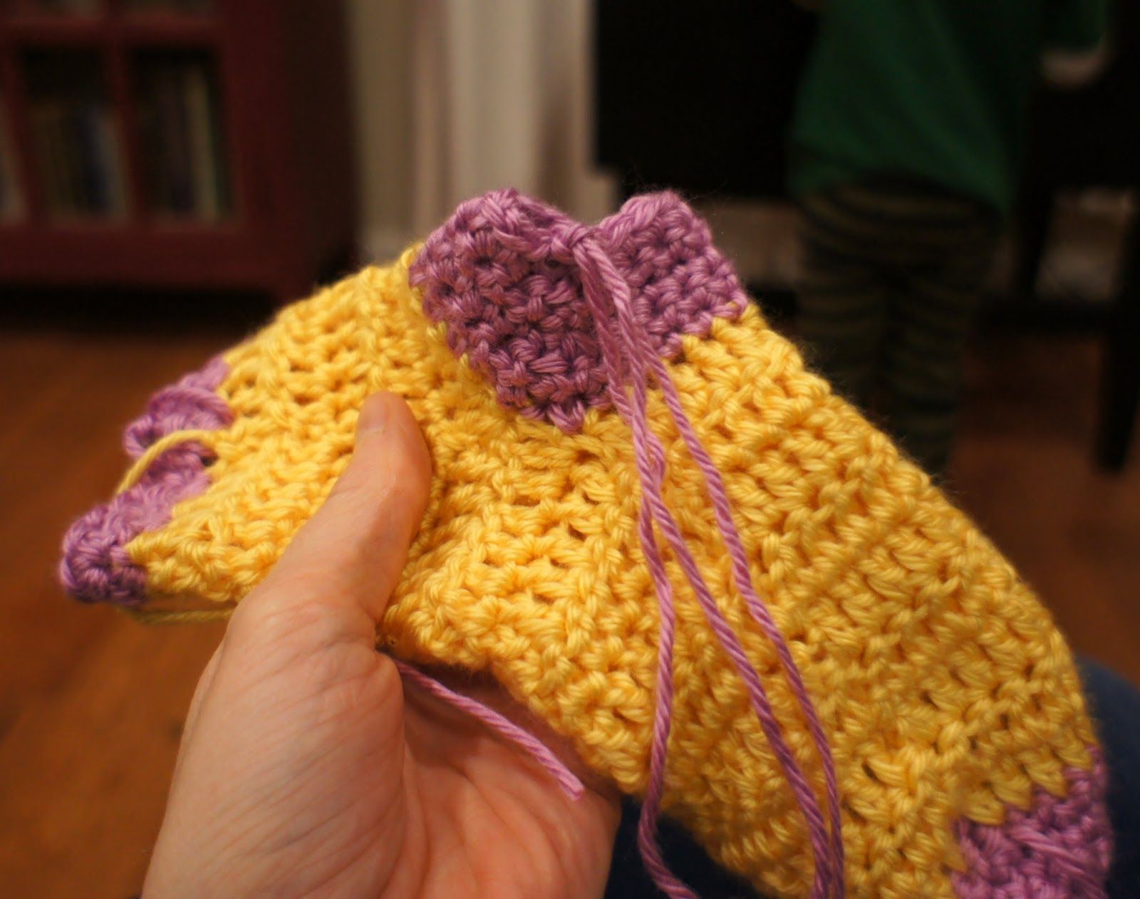 Calcetines de crochet..