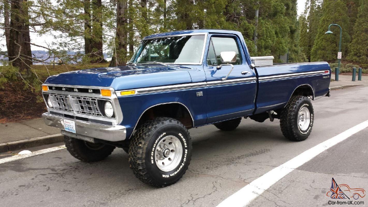 1975 Ford F250 4x4 Highboy 460v8 Ford Trucks
