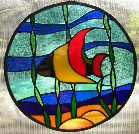 Poisson pour vitrail recherche google artisans du vitrail pinterest artisan - Modele poisson ...