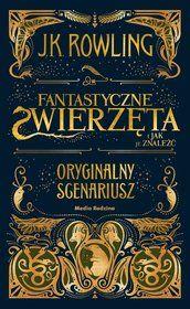 Fantastyczne Zwierzeta I Jak Je Znalezc Oryginalny Scenariusz Book Cover Art Logo Branding Design Logo