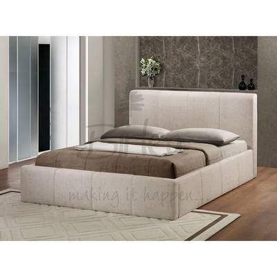 Brooklyn Ottoman 135cm Bed Wheat
