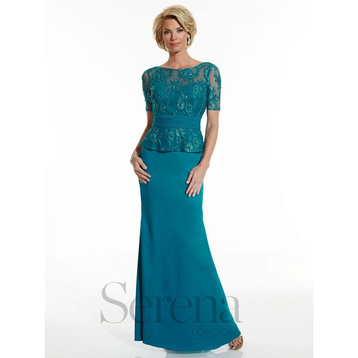 Serena London Style 17758. Available at Brandi\'s Bridal Galleria ...