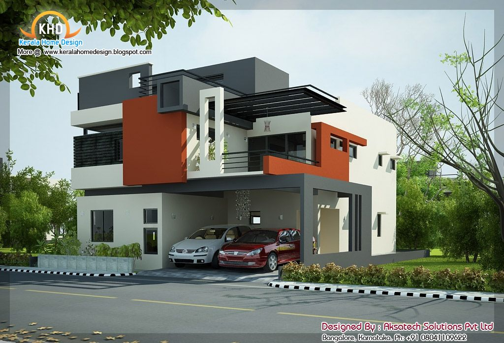 Modern house elevation home design house design plans for Modern house jerngryte