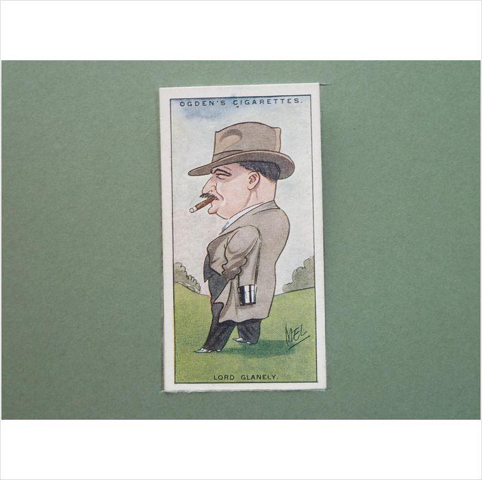 LORD GLANELY SINGLE CIGARETTE CARD NO 22 OGDEN'S 1929 Tilleys of Sheffield