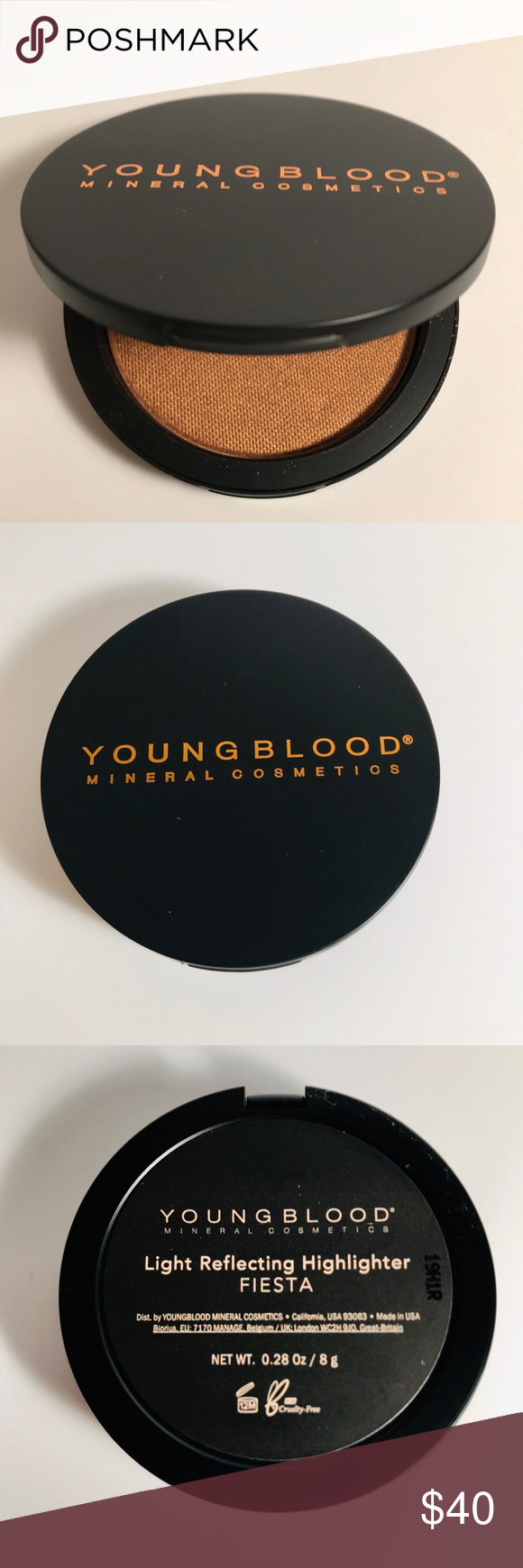 Youngblood Lights Right Reflecting Highlighter #mineralcosmetics