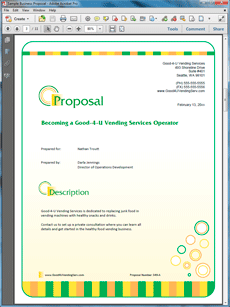 Buying a vending franchise sample proposal create your own custom buying a vending franchise sample proposal create your own custom proposal using the full version thecheapjerseys Gallery