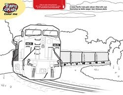 Real Trains Culring Pajes Coloring Pages Trains4kids Magazine Train Coloring Pages Coloring Pages Free Coloring Pages