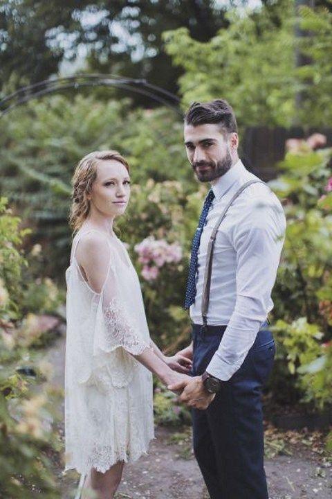 47 Effortlessly Chic Backyard Wedding Dresses   HappyWedd.com - 47 Effortlessly Chic Backyard Wedding Dresses Weddingdresses And