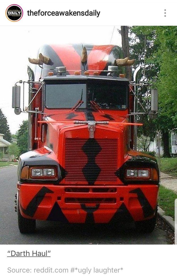 Darth haul big trucks trucks big rig trucks