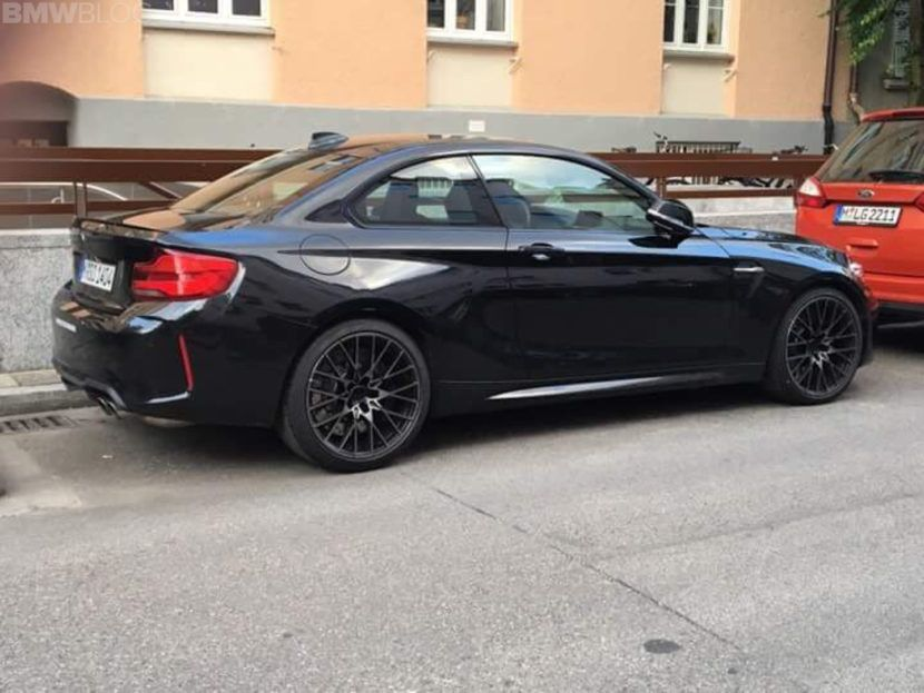 Spied Bmw M2 Competition Caught In Munich Bmw M2 Bmw Competition