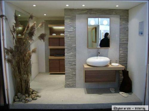 univers deco salle de bain zen bois | Salle de bain zen, Deco ...