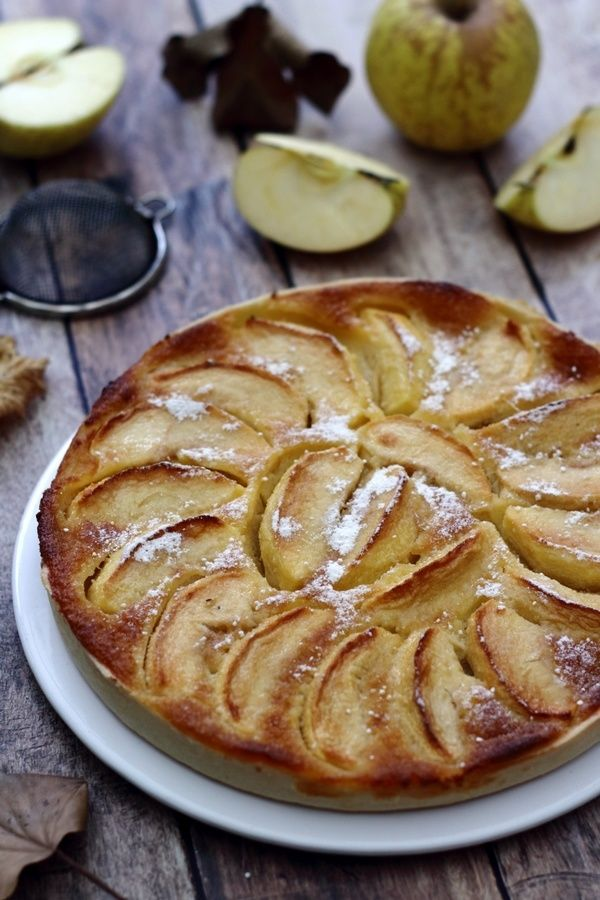 Tarte aux pommes normande   Tarte aux pommes normande ...
