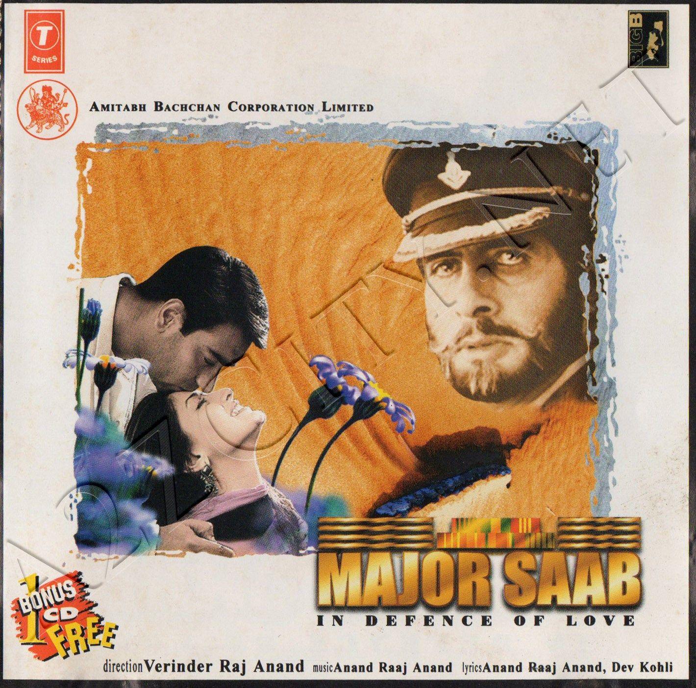 Major Saab 1998 Flac Bollywood Songs Saab Old Movies